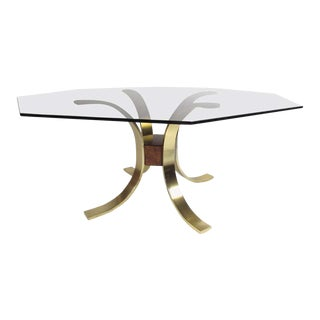 Modern Decorator Style Centre Hall Table For Sale
