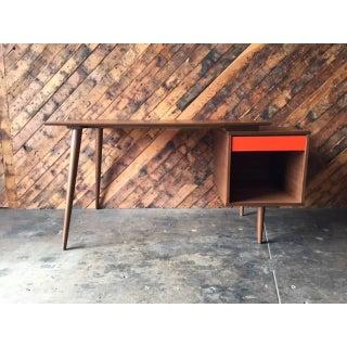Mid-Century Style Custom Walnut Desk Preview
