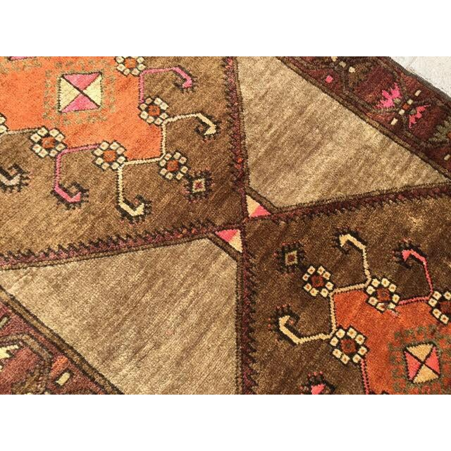 Vintage Hand Knotted Anatolian Rug For Sale - Image 4 of 7