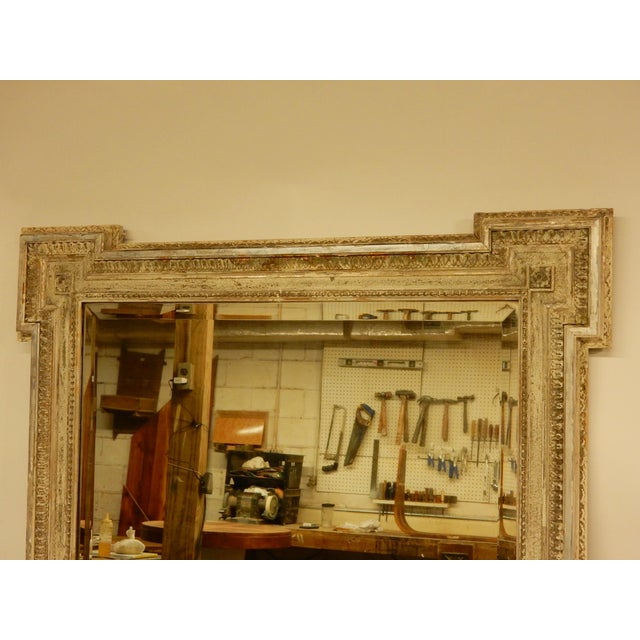 19th C Louis XVI Mirror For Sale - Image 4 of 8