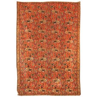 Antique 19th Century Persian Zili Sultan Rug For Sale