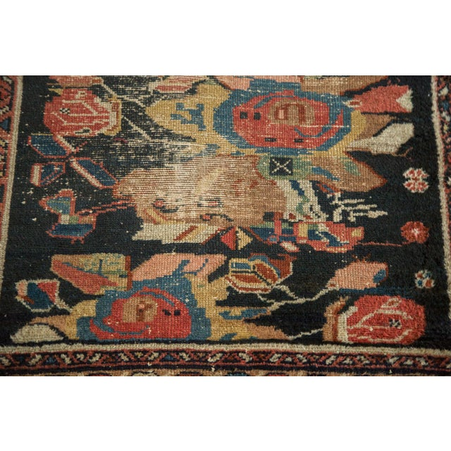 Antique Karabagh Lilihan Rug - 2′7″ × 4′1″ - Image 7 of 10