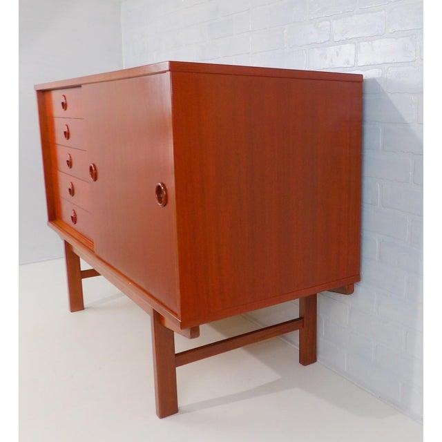 Folke Ohlsson for Dux Sweden Mid Century Modern Sideboard For Sale - Image 9 of 13