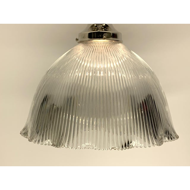 Holophane shades are outstanding for kitchen or other areas where you need general overall lighting. Paired with a new UL...