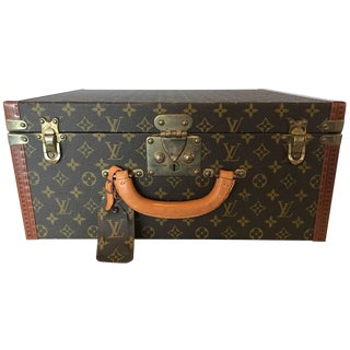 Louis Vuitton Monogram Hard Sided Suitcase. No. 912291 For Sale