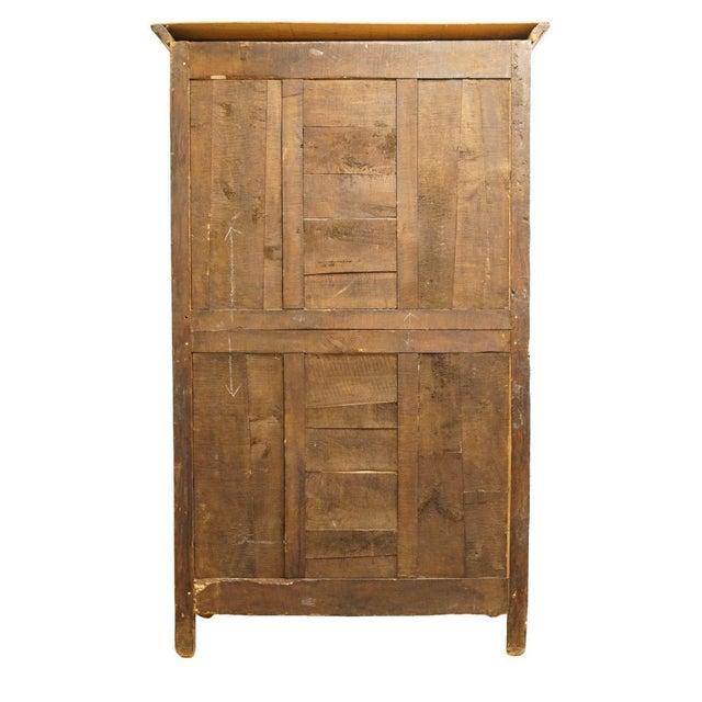 "1800's Louis XVI 66"" Armoire/Wardrobe For Sale - Image 11 of 13"