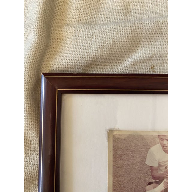 Realism Framed Vintage 1969 Thai Documentary Style Snake Photograph For Sale - Image 3 of 5