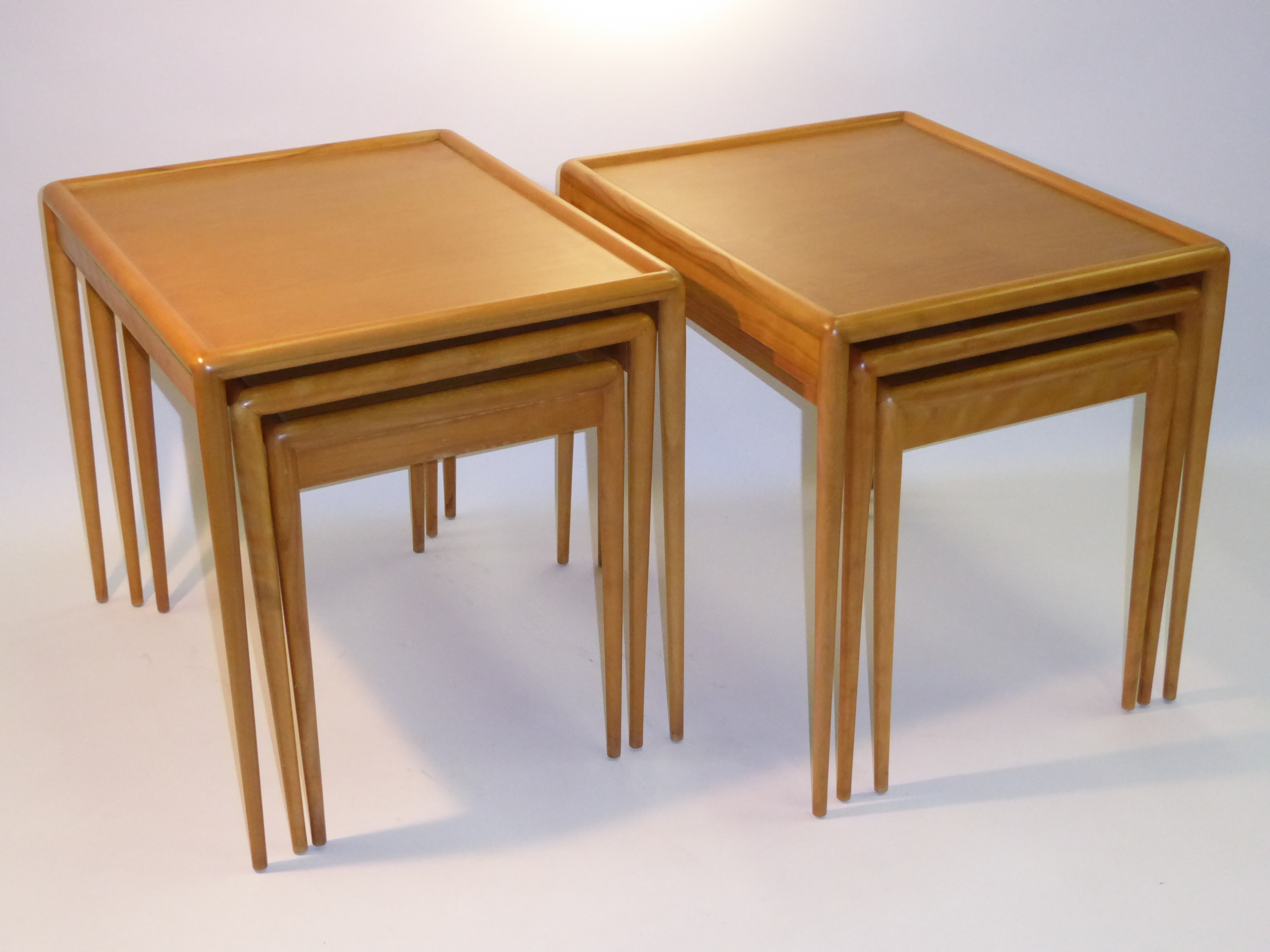 Fabulous Pair Th Robsjohn Gibbings Mid Century Modern Nesting Tables