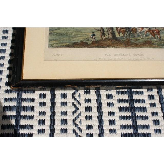 1824 Tinted Framed Engraving After Dean Wolstenholme Jr [British 1798-1882] For Sale In Dallas - Image 6 of 7