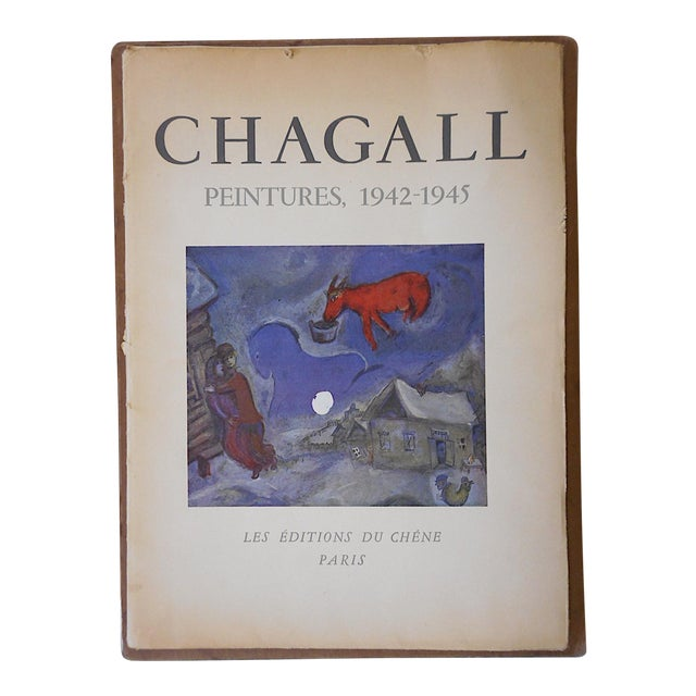 Vintage Ltd, Ed. Marc Chagall Lithograph For Sale