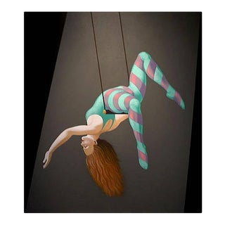 Lynn Curlee Acrobat I Original Painting For Sale