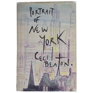 Cecil Beaton's Portrait of New York Book For Sale
