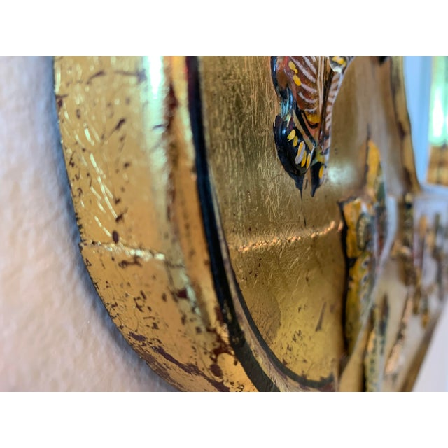 Bohemian Butterfly Wall Mirror For Sale - Image 4 of 13