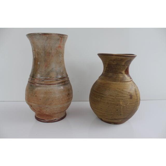Evan Jon Designer Studio Art Pottery - Pair For Sale - Image 9 of 9