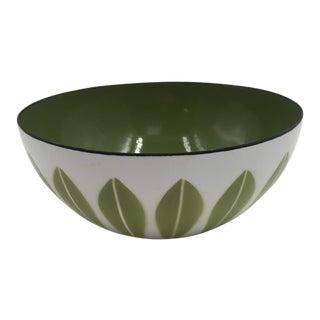 "1960s Mid-Century Modern Enamelware 5.5"" Catherineholm Lotus Bowl For Sale"