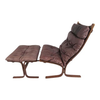 Scandinavian Modern Siesta Lounge Chair by Ingmar Relling for Westnofa For Sale