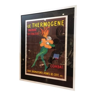 "1930s Vintage Advertising Cappiello ""Le Thermogene"" Liqueur Poster For Sale"