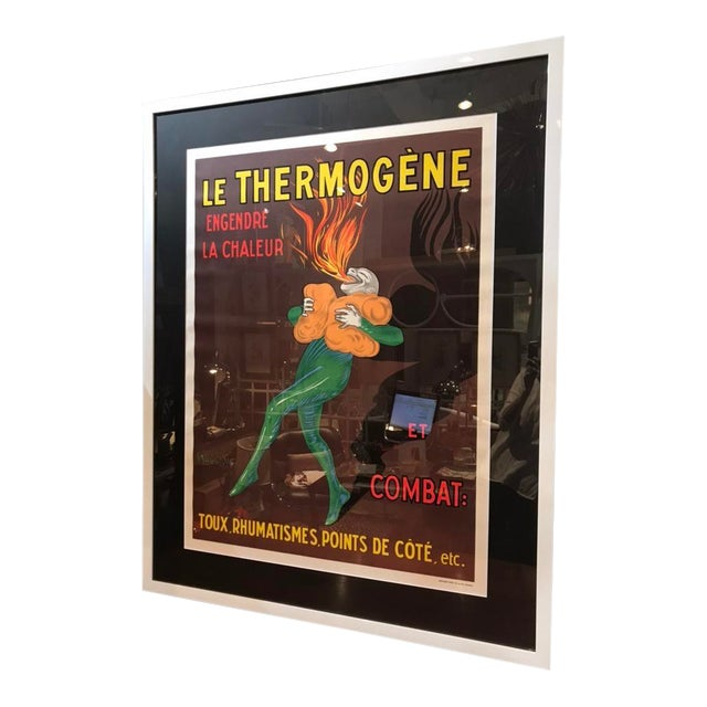"""1930s Vintage Advertising Cappiello """"Le Thermogene"""" Liqueur Poster For Sale"""