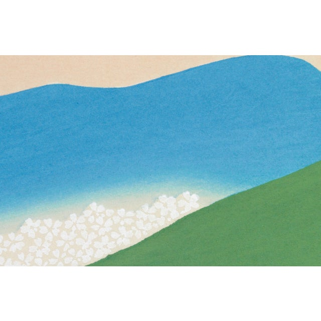 Green Mountains by K. Sekka This reproduction is a new, individually printed and proofed, superior quality, giclee*...