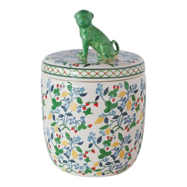 Crewel Summer Jar For Sale