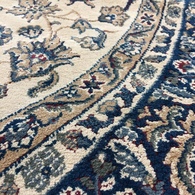 """Traditional Persian Floral Rug - 5'3"""" x 7'5"""" - Image 5 of 6"""