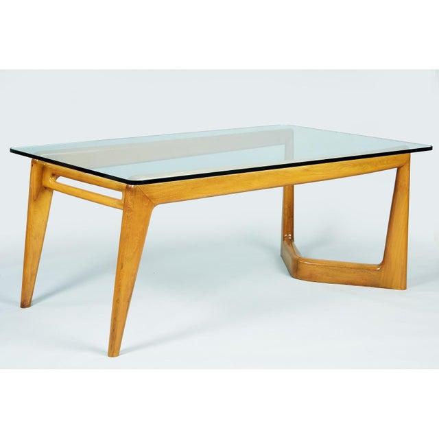 1950s Mid-Century Modern Pierluigi Giordani Biomorphic Dining Table For Sale - Image 13 of 13