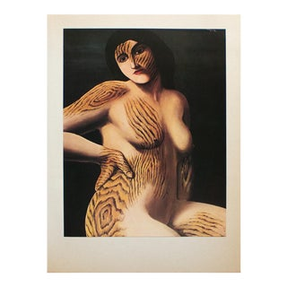 """1972 Rene Magritte, """"Discovery"""" Original Photogravure For Sale"""