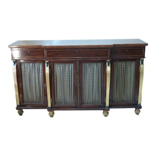 19th Century French Empire Rosewood Server For Sale