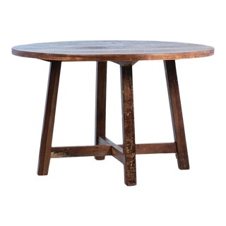 Reclaimed Burwood Round Dining Table For Sale
