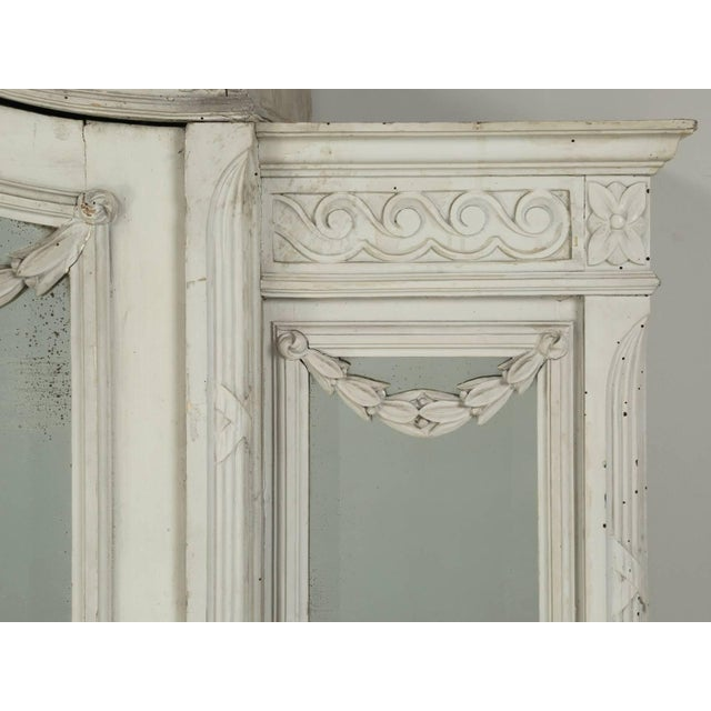 Antique French Original Painted Armoire, Circa 1900 For Sale - Image 4 of 10