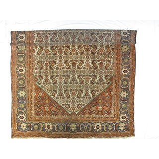 Antique Persian Sultanabad Carpet - 9′9″ × 14′