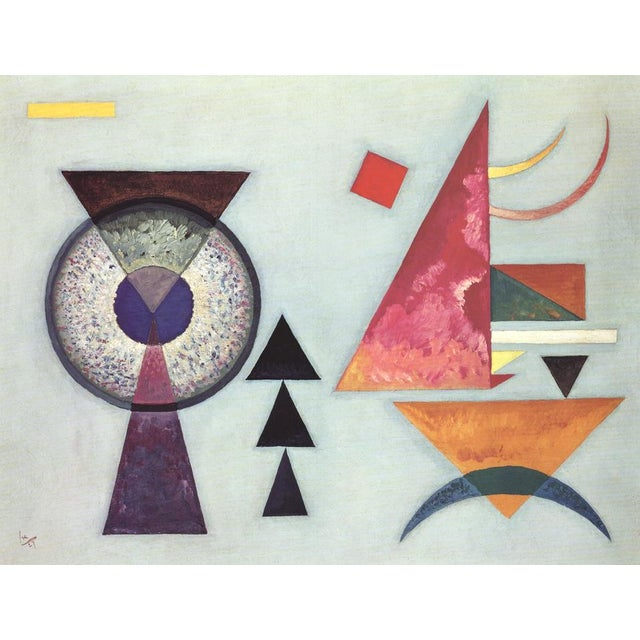 """1980s """"Soft Hard"""" Wassily Kandinsky Lithograph For Sale - Image 5 of 5"""