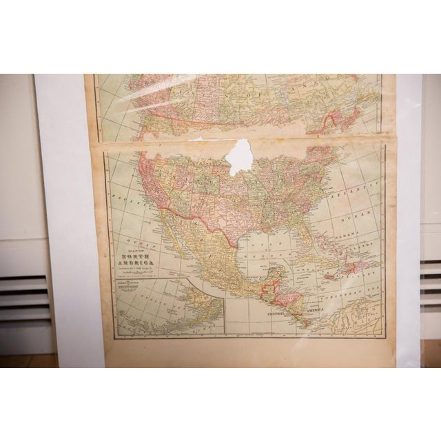 Cram's 1907 Map of North America For Sale In New York - Image 6 of 9
