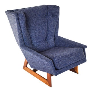 Adrian Pearsall Wingback Chair For Sale