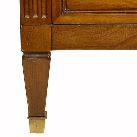 Brown Kindel Furniture Co. Cherry Wood Tall Dresser For Sale - Image 8 of 10