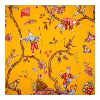 Chinoiserie Exotique Scalamandre Wallpaper For Sale