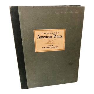 Treasury of American Prints by Thomas Craven, 1939 For Sale