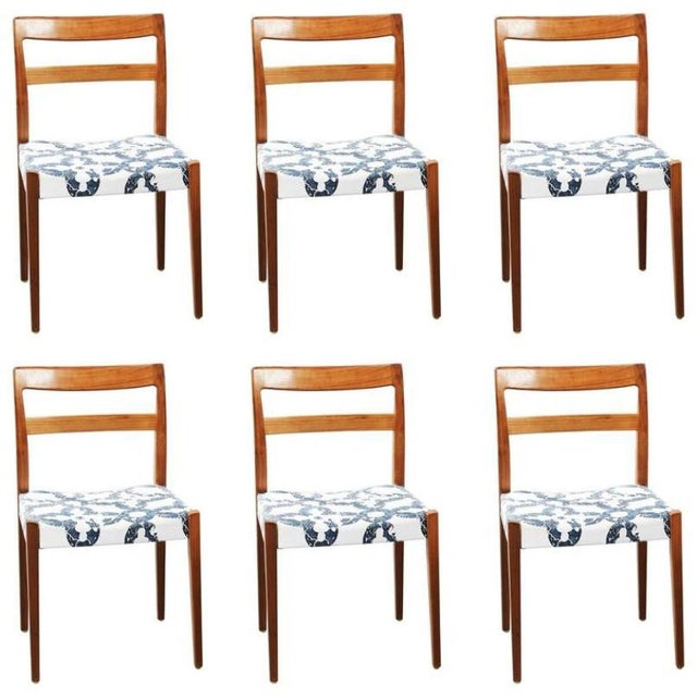 Mid-Century Modern Dining Chairs by Nils Jonsson for Troeds, 1960s - Set of 6 For Sale - Image 3 of 8