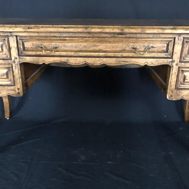 1990s Country French Provincial Desk by Guy Chaddock For Sale - Image 5 of 13