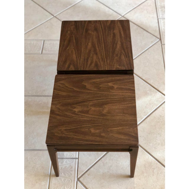 Mersman 1960s Mid-Century Modern Mersman Side Tables - a Pair For Sale - Image 4 of 9
