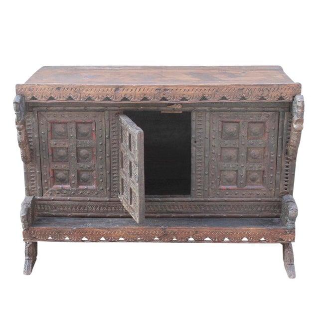 Antique Teak Gujarat Cabinet - Image 9 of 9