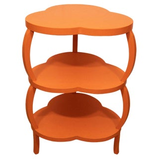 Orange Clover Leaf Table For Sale