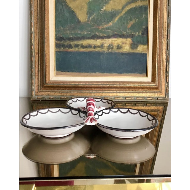 Traditional Late 20th Century Lobster Serving Dish For Sale - Image 3 of 7