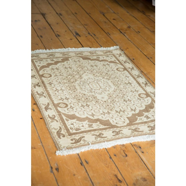 "1970s Vintage Bijar Square Rug - 2'6"" X 3' For Sale - Image 5 of 9"