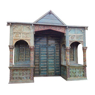 Traditional Rajasthan Haveli Entry Way Gate For Sale