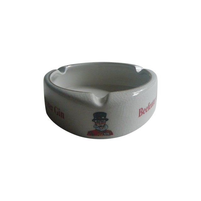 Vintage Beefeater Gin English Ashtray - Image 1 of 6