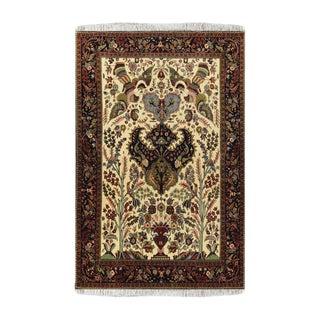 Sarouk Wool Persian Rug-5′4″ × 6′11″ For Sale