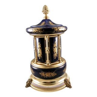 Vintage Brevetto Italy Musical Lipstick Carousel For Sale