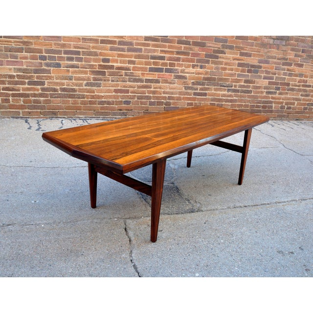 Mid-Century Danish Rosewood Coffee Table - Image 3 of 8