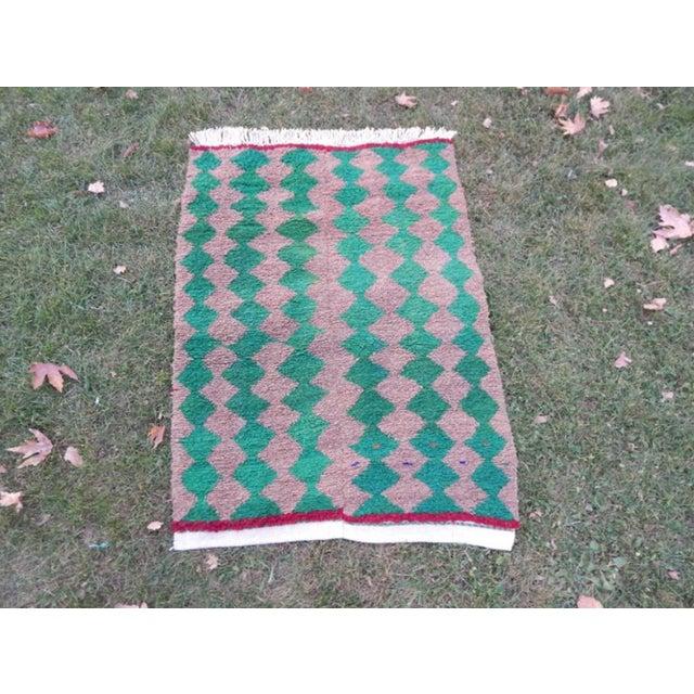 Modern Turkish Angora Tulu Rug For Sale - Image 12 of 12